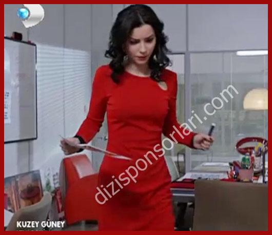 Kuzey Güney- Zeynep'in 54.bölümdeki Kırmızı Elbisesi
