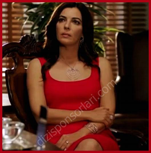 Şahika'nın Kırmızı Elbisesi... İntikam Giyim, Kıyafet