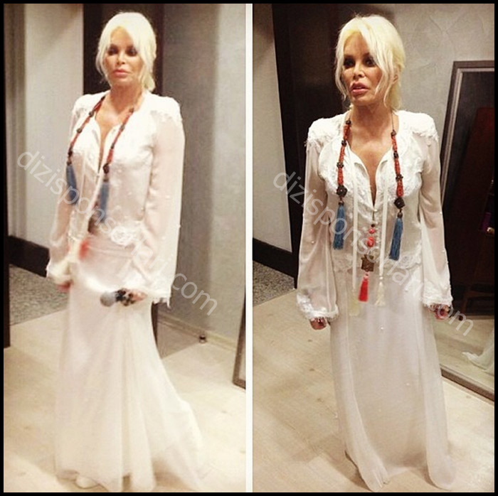 Ajda Pekkan'in Beyaz Elbisesi Giyim, Kıyafet, Sponsorları