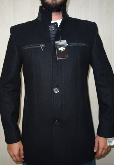 Slim Fit Kaşmir Palto